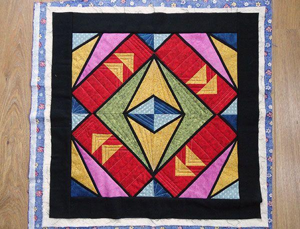 3 kleine quiltjes in de maak door Miranda van www.loveallcrafts.nl