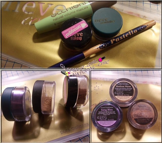 mini haul neve cosmetics e review mascara occhioni