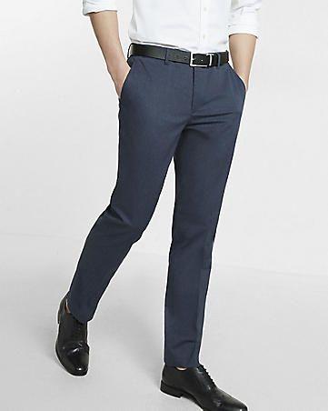 X long dress pants tapered