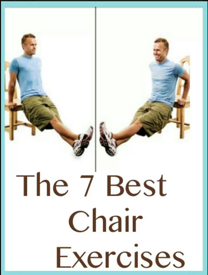 Chair workouts workout pinterest chair workout for Chair workouts