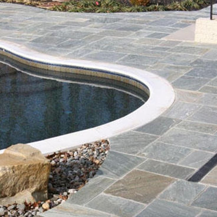 10 best artistic paver pedestrian product line images on Flagstone pavers around pool