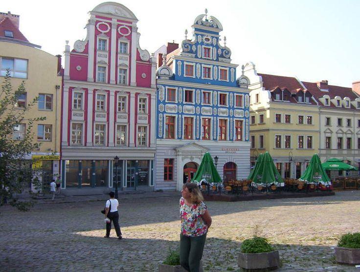 Stettin, Poland  My great grandpa's hometown