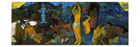 Gauguin: Painting, 1897 ジクレープリント