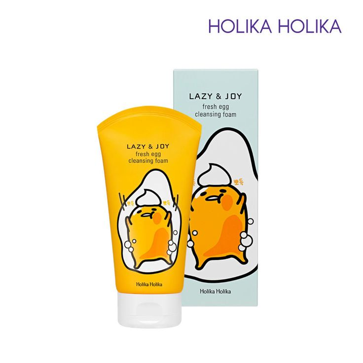 [Holika Holika] Gudetama Fresh Egg Cleansing Foam 150ml / Korean Cosmetic #HolikaHolika