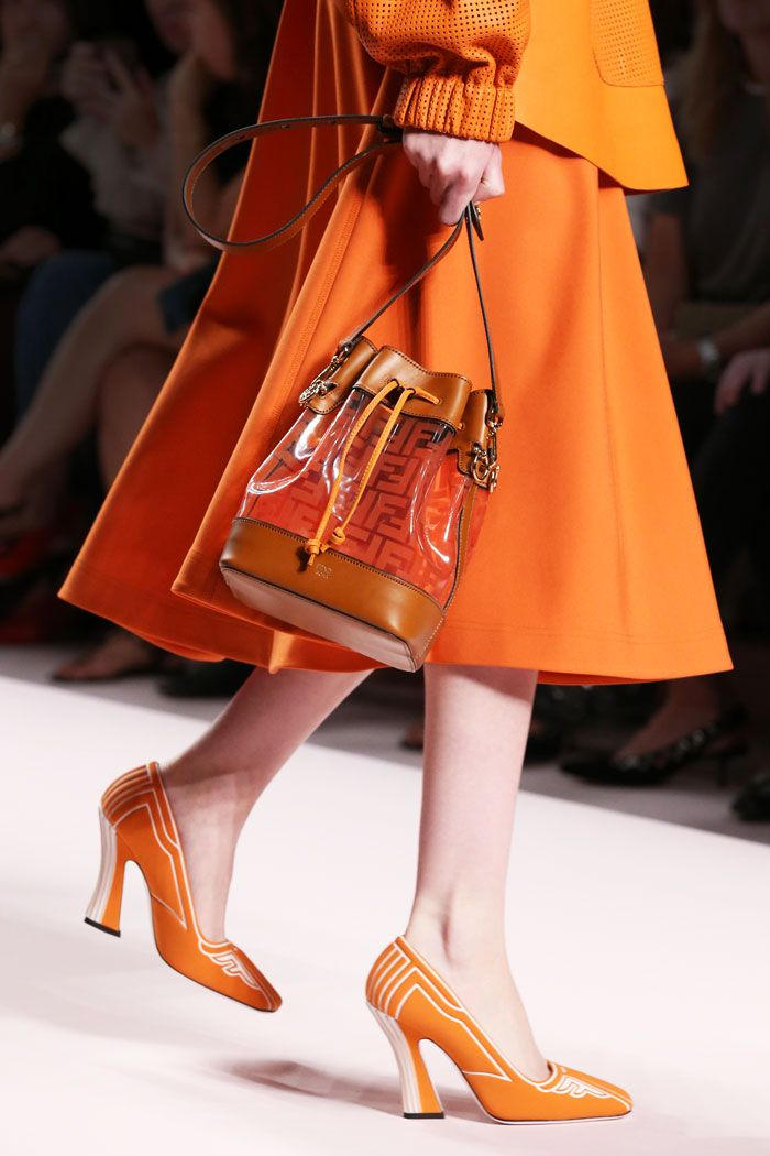f0207b4e9f18 Fendi FFreedom Orange pumps. Fendi FFreedom Orange pumps Streetwear Shoes  ...