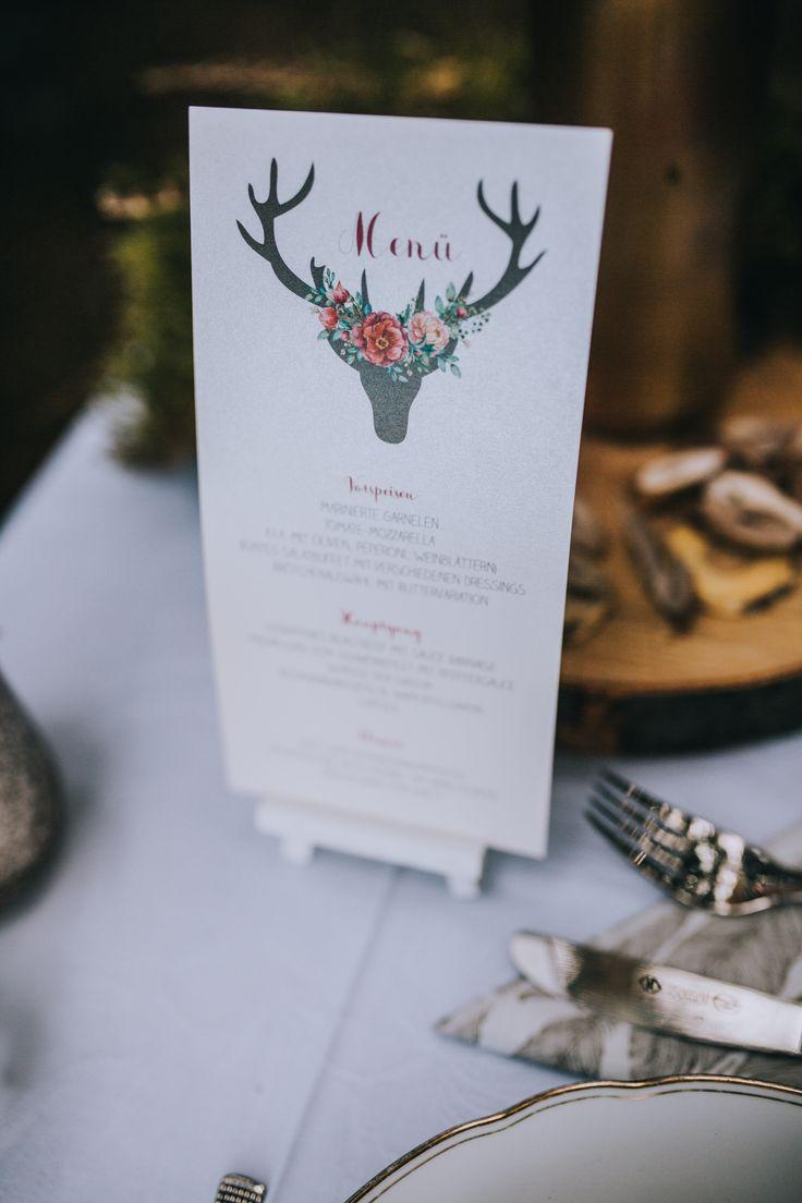 WonderWed Styled Shoot Boho Hochzeit Wald Natur Romantik