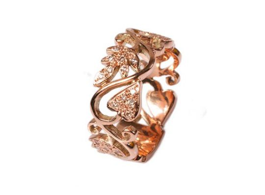 Passion band rose gold