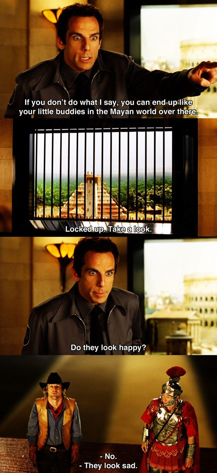 Locked up ~ Night at the Museum (2006) ~ Movie Quotes #amusementphile