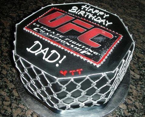 Boy Birthday Cakes Ufc