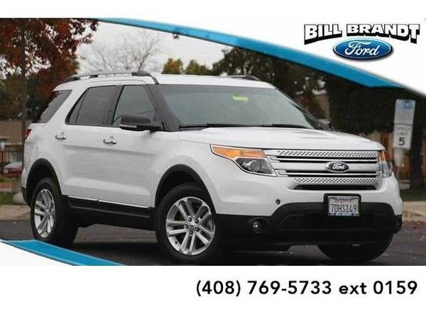 2014 *Ford Explorer* XLT 4D Sport Utility (White)