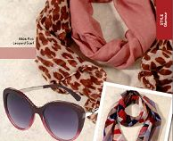 Glam Hot! New designer Pink Leopard Scarf  #glam #diva #scarf #accessories #fashion #Hot
