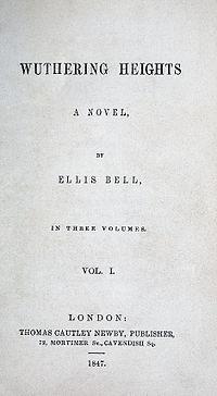Emily Brontë - Cumbres Borrascosas