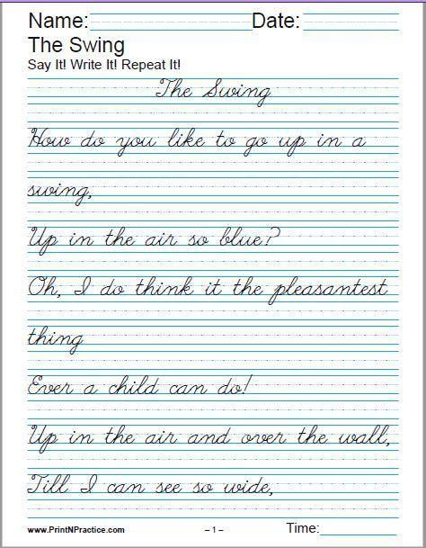 Printable Handwriting Worksheets For Kids Manuscript Handwriting And Cu Cursive Handwriting Worksheets Cursive Handwriting Practice Cursive Writing Worksheets