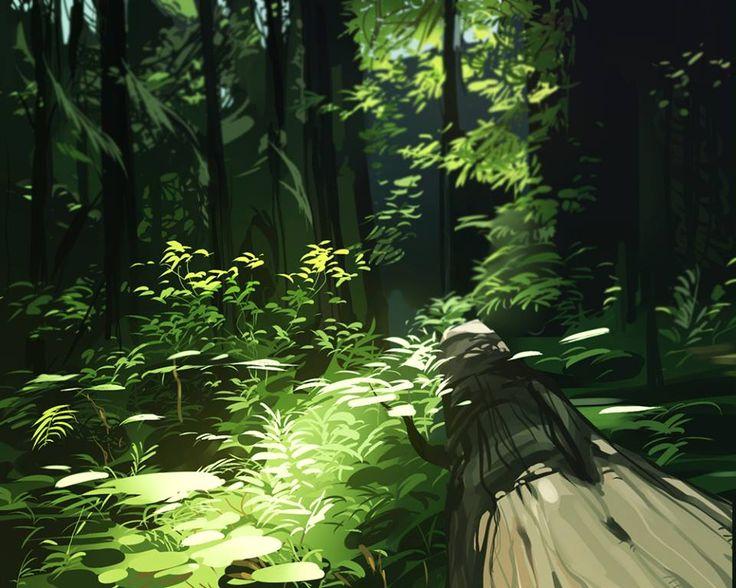 """Nature"" by Jane Bak* • Blog/Website   (www.intindra.tumblr.com)"