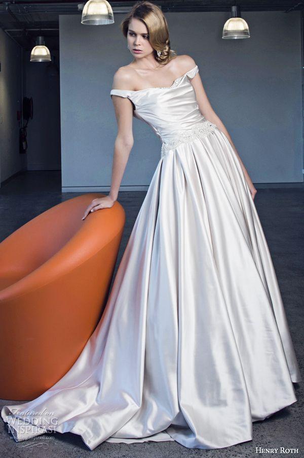 http://weddinginspirasi.com/2013/11/29/henry-roth-2014-wedding-dresses/ henry roth 2014 #wedding dress sophia #weddings #weddingdress