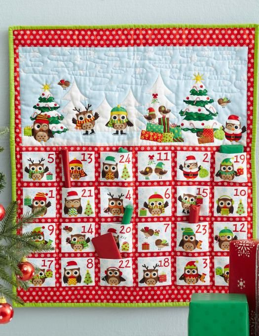 Sewn Advent Calendar Ideas : Unique fabric advent calendar ideas on pinterest
