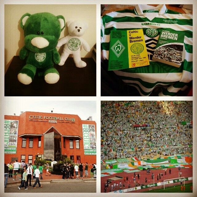 Glasgow's green and white!