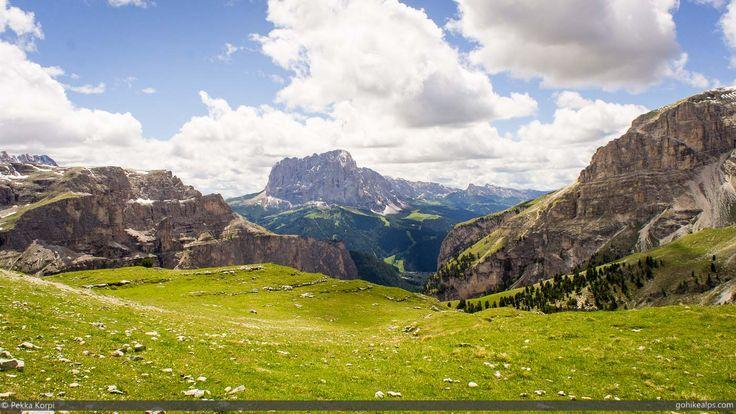 Schlüterhütte to Passo Gardena: Day 2 on Alta Via 2