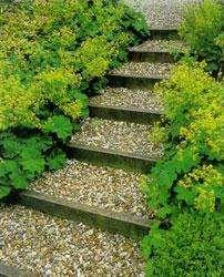 Лестницы и ступеньки в ландшафтном дизайне