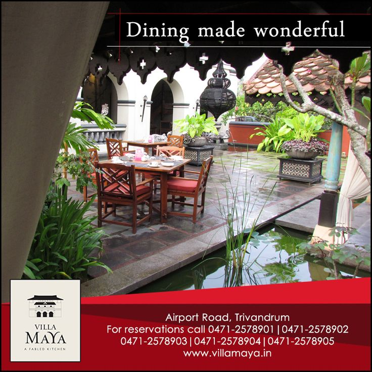 A spacious environment wafting with bountiful and pleasant smelling food, that's the type of dining experience we offer.
