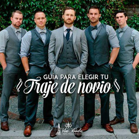Guía para Elegir tu Traje de Novio -- VíaBoda quiere mostrarte una guía completa para elegir el perfecto traje del novio para tu boda. Más