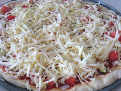 pizza doughFreezers Pizza, Freezers Cooking, Breads Flour, Cheap Eating, Basic Homemade, Freezers Meals, Cups Breads, Homemade Pizza, Freezers Food