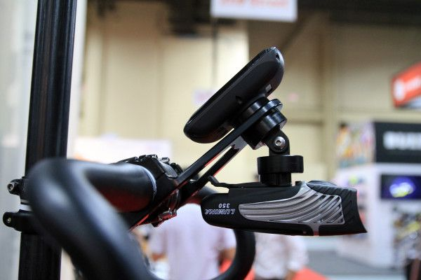 IB13: WoMo Pulls Double Duty With New Dual Mount for Garmin, Gopro, Cateye, Lights and more
