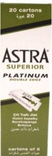 Astra Superior Double Edge Safety Razor Blades (100 Blades)  Astra Superior Safety Razor Blades are coated with stainless steel for a close and comfortable shave every time.This set comes with 100 individually wrapped blades.  #hangerproject #kirbyallison #kirbyallisonhangerproject #shavingformen #menswetshave #wetshave #shaving  #blade #astrablade