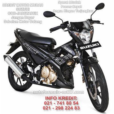 98# Suzuki Satria F 150 dan Black Fire 2, Pilihan Warna Kredit Motor Murah Jakarta