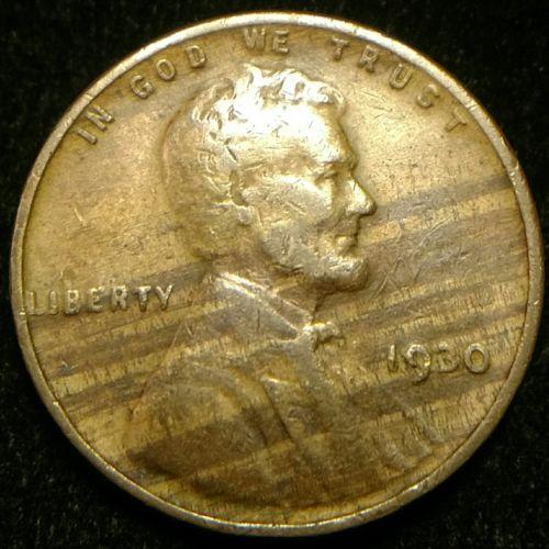 #error #errorcoins 1930-P Improper Alloy Error Lincoln Cent Wheat Penny