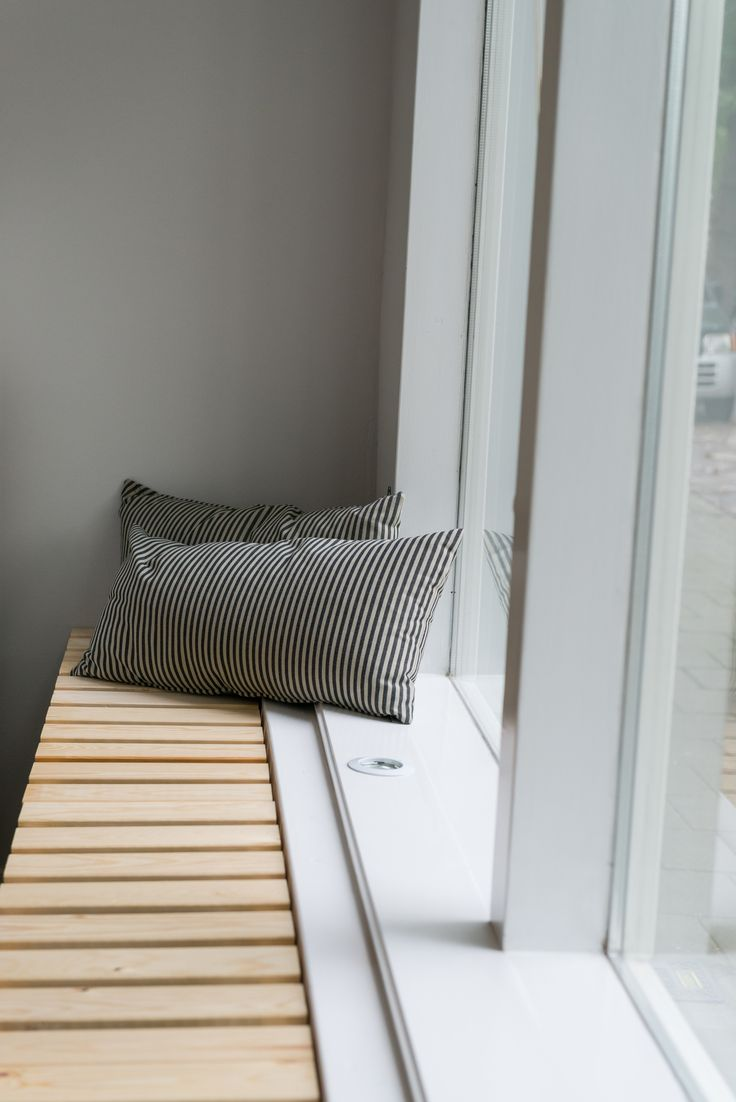 window and radiator cover / bench