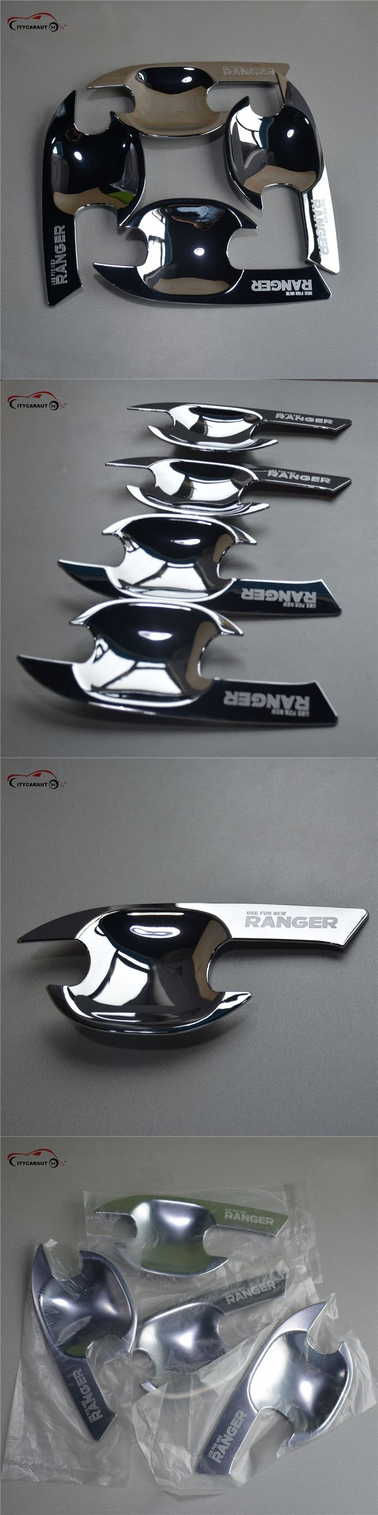 suitable for ranger accessories ABS chrome door handle Inserts bowl trim for RANGER 2012 2015 2016 new pickup accessories