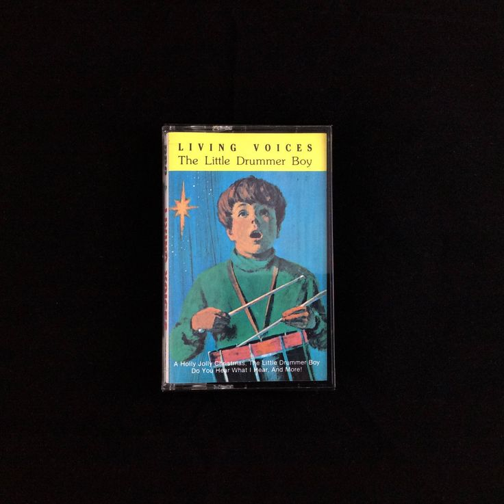 The Little Drummer Boy - Living Voices - 1985 - Cassette Tape - RCA His Masters Voice - The Special Music Company by TheTimeTravelingPug on Etsy