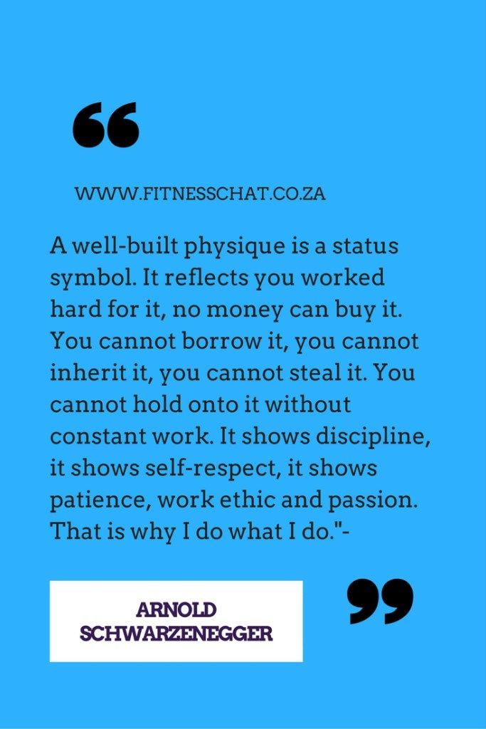 A Well Built Physique Is A Status Symbol Health Quote ...