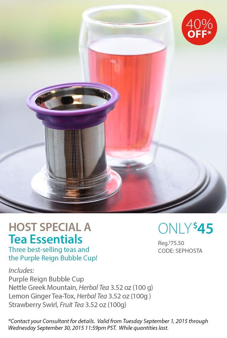 September Host Special A - Tea Essentials