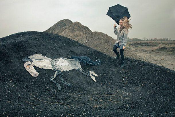 Het meisje en haar 7 paarden