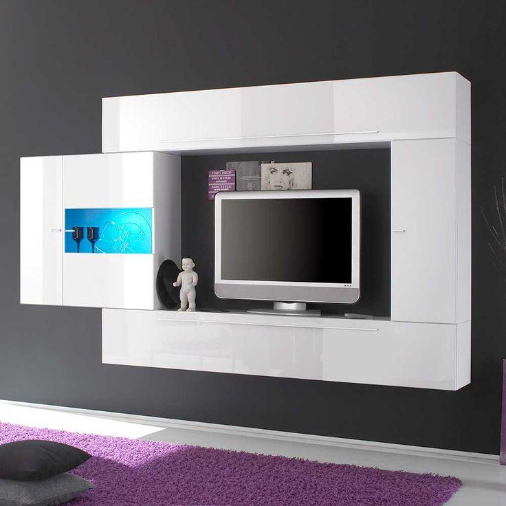 Awesome LC TV Media Wand Breite cm kaufen Rechnungskauf Ratenzahlung Wahlweise mit Aufbauservice