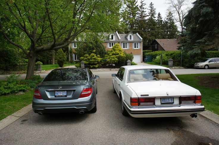 Albert Lai Rolls Royce Silver Spur III and Mercedes Benz C350 4Matic with AMG Trim