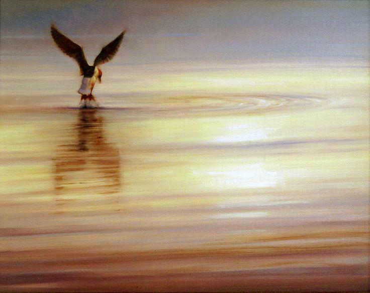 Leap (16 x 20 in oil)