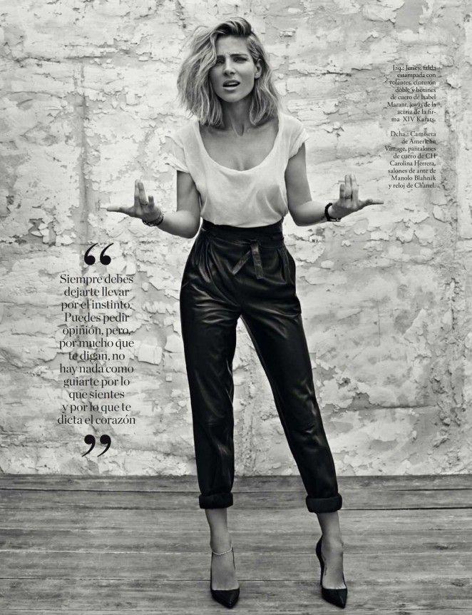 dailyactress: Elsa Pataky – Elle Magazine (December 2015)
