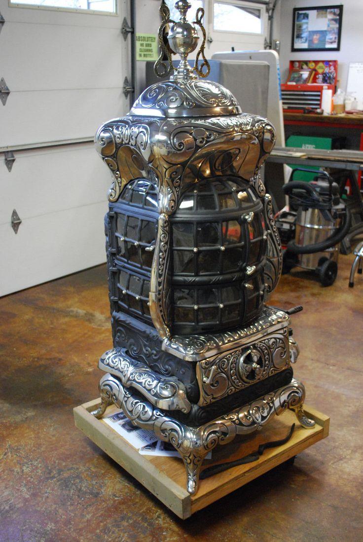 Antique Parlor Stove It's Stunning Favorite 116 | eBay