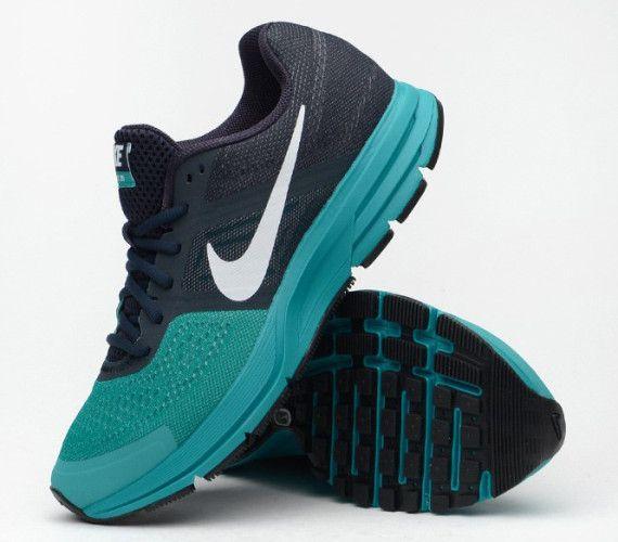 Nike Air Pegasus 30+ – Dark Obsidian – Turbo Green