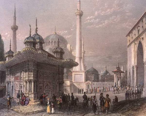 Topkapı Palace-Sultan Ahmet III Fountain- Ayasofya