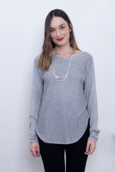 Grey and Comfy | Anna Sweater in Grey | Scandinavian Style in Clothing