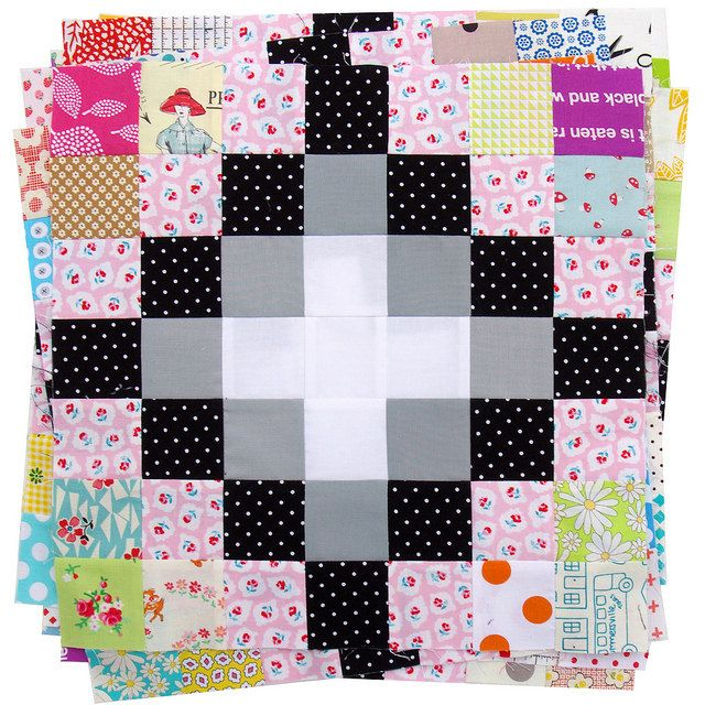 Irish Chain Scrap Buster Quilts | Red Pepper Quilts 2015: