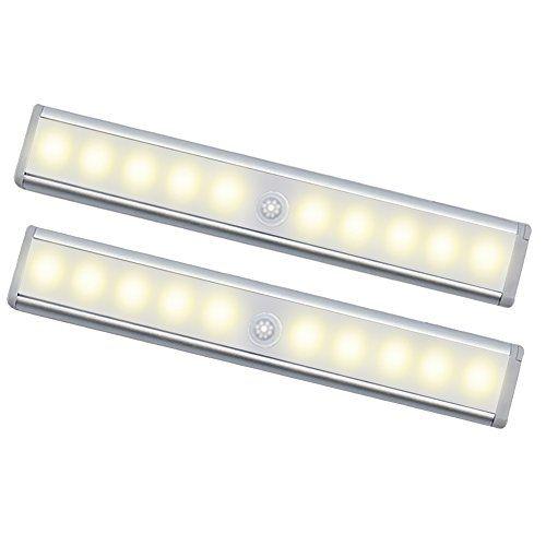 Elegant Oisee Led Batterie Nachtlicht Mit Beleuchtung Mit Sensor Kabellos Lampe  Fr Schrank With Schrank Beleuchtung