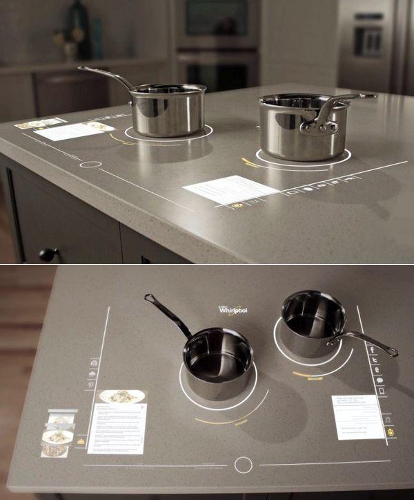 Cucinare nel futuro con whirlpool cucine e dintorni cocinas cocinas abiertas e decoraci n - Cucinare con induzione ...