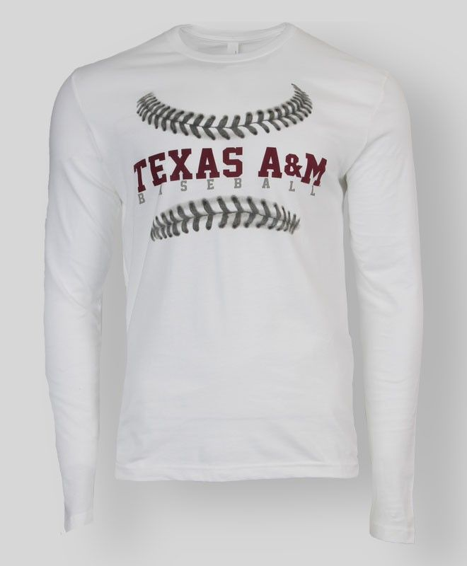 Texas A&M Baseball T-shirt #AggieGifts #AggieStyle