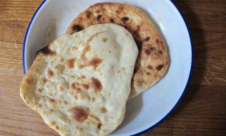 Vivek Singh's naan bread