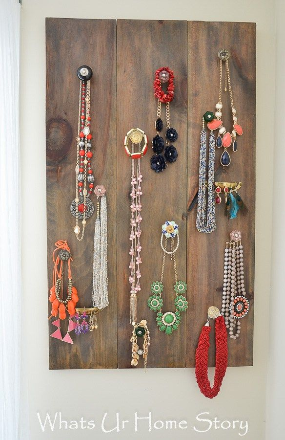 Diy Jewelry Organizer Blogger Home Projects We Love
